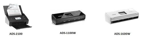 Brother-ADS-2100-ADS-1100W-ADS-1600W-Scanners